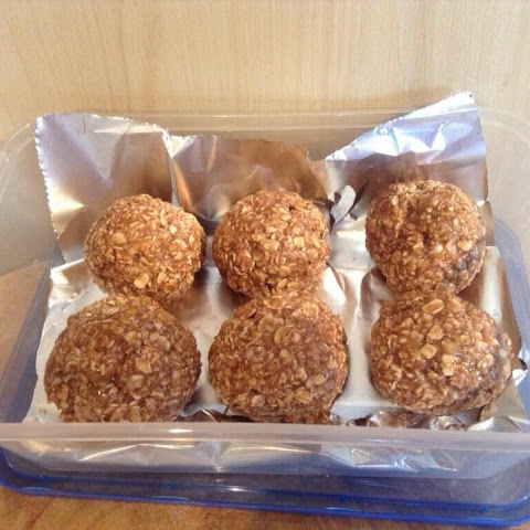 Easy High Protein Oaty Bites