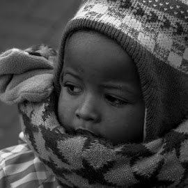 bw child by Ria Schildermans - People Family ( oostende,  )