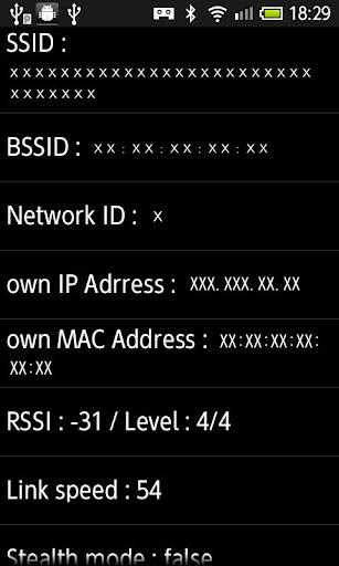 WiFi情報収集
