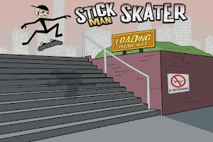 Screenshot of Stickman Skater