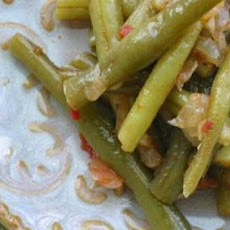 Greek-Style Green Beans