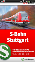 Screenshot of Navi S-Bahn Stuttgart