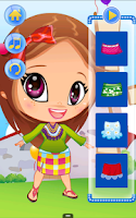 Screenshot of Cute Baby Dress Up