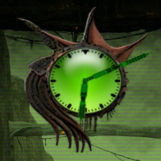 Alien X Clock 個人化 App LOGO-APP試玩