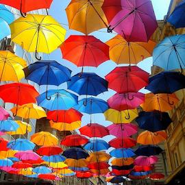 Kisobrani  by Sinisa Petkovic - City,  Street & Park  Street Scenes (  )