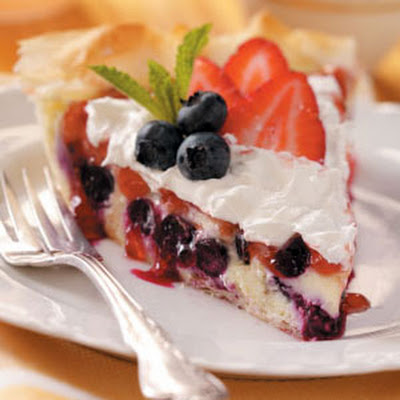 Berry Cheesecake Pie