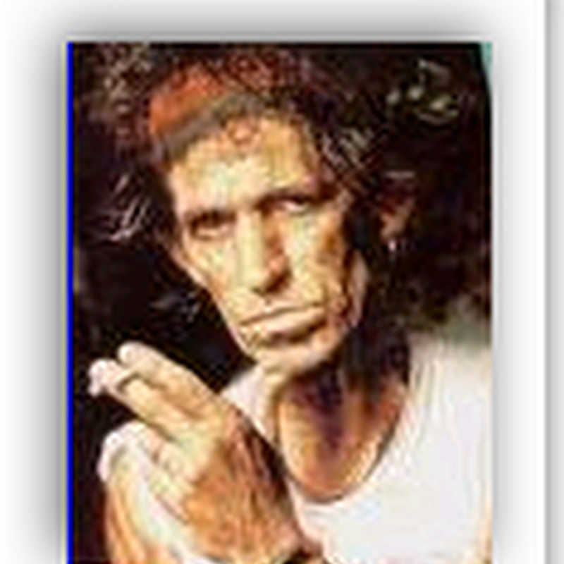 Guitarist Keith Richards - Being A Medical Marvel