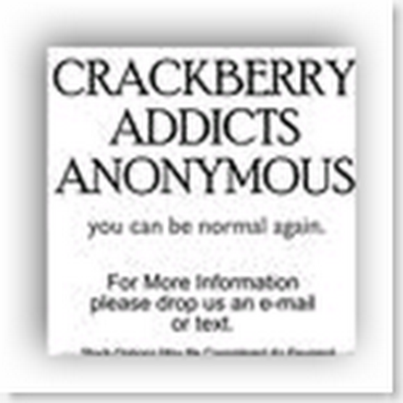 The 13 Steps to Breaking a CrackBerry Addiction