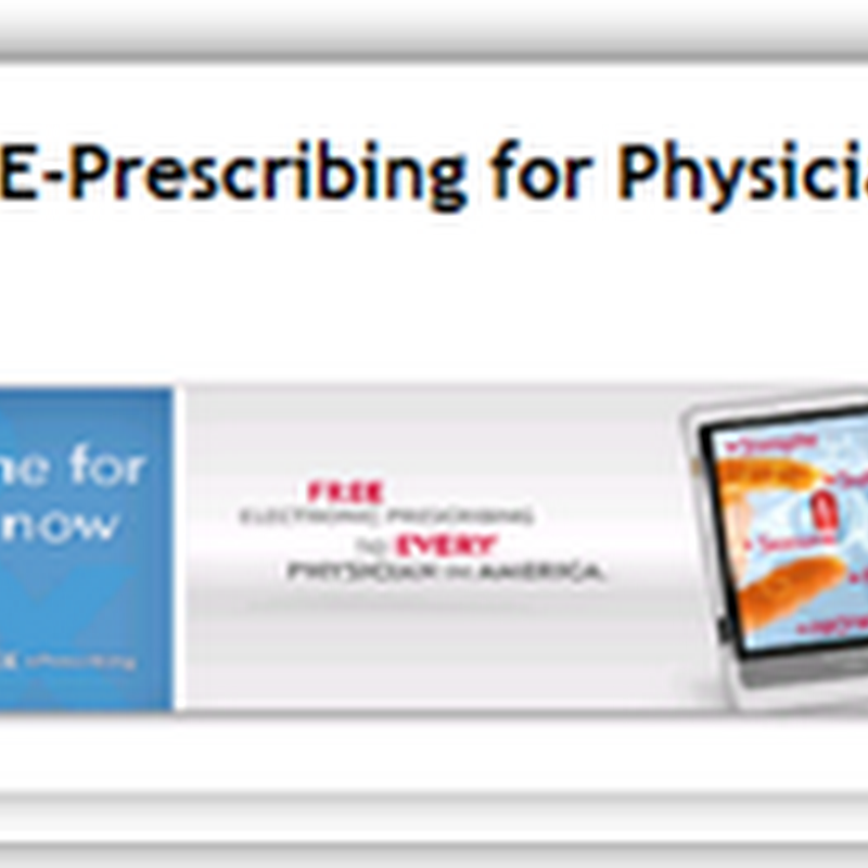 Pharmacies to Push E-Prescribing with advertising campaign...