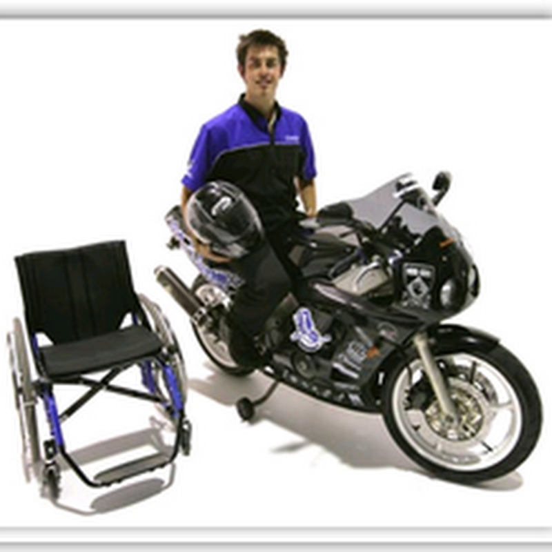 Paraplegic motorcycle