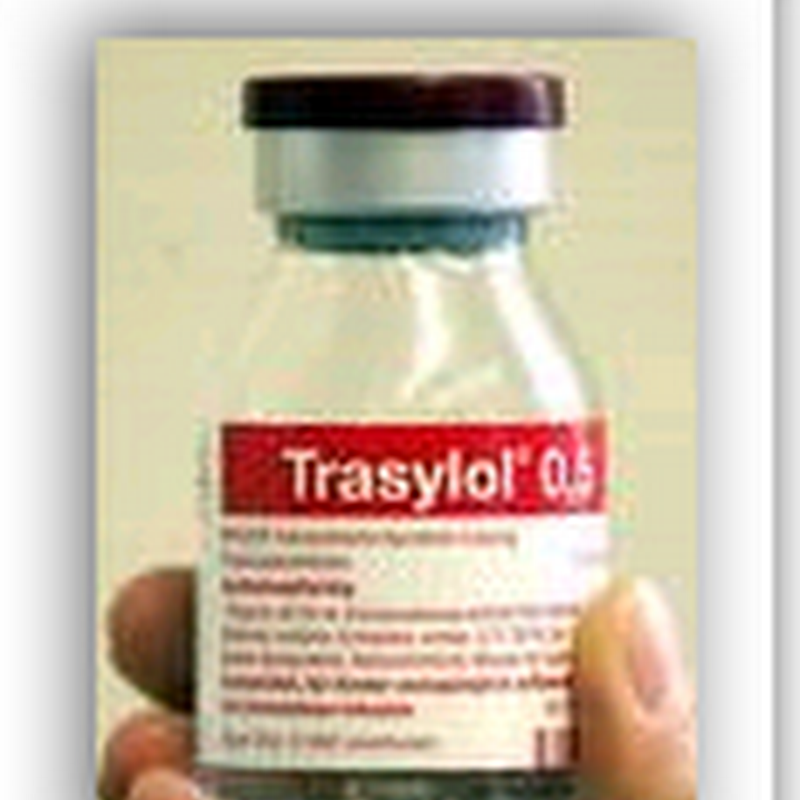 Remaining stocks of Trasylol removed