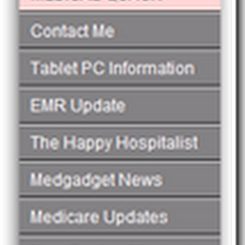 Medical Quack Speed Reader Preview Widget – This blog and other Medical Bloggers…