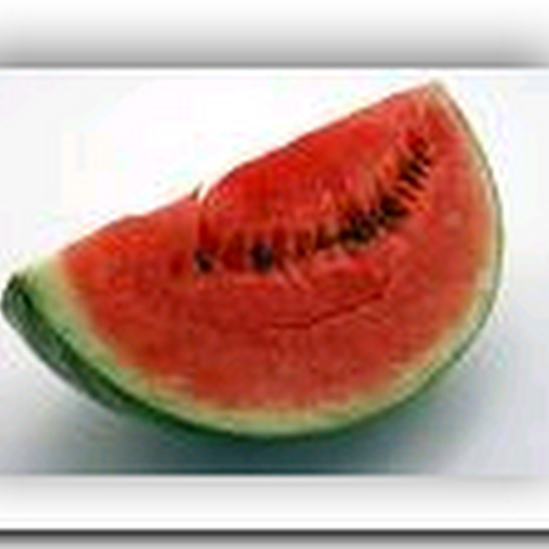 Watermelon may have Viagra-effect