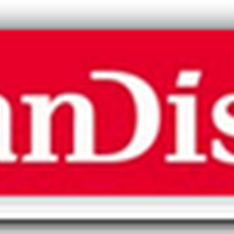 SanDisk WORM secure memory card