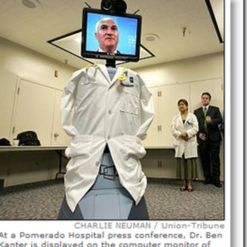 Robodoc' coming to a hospital near you