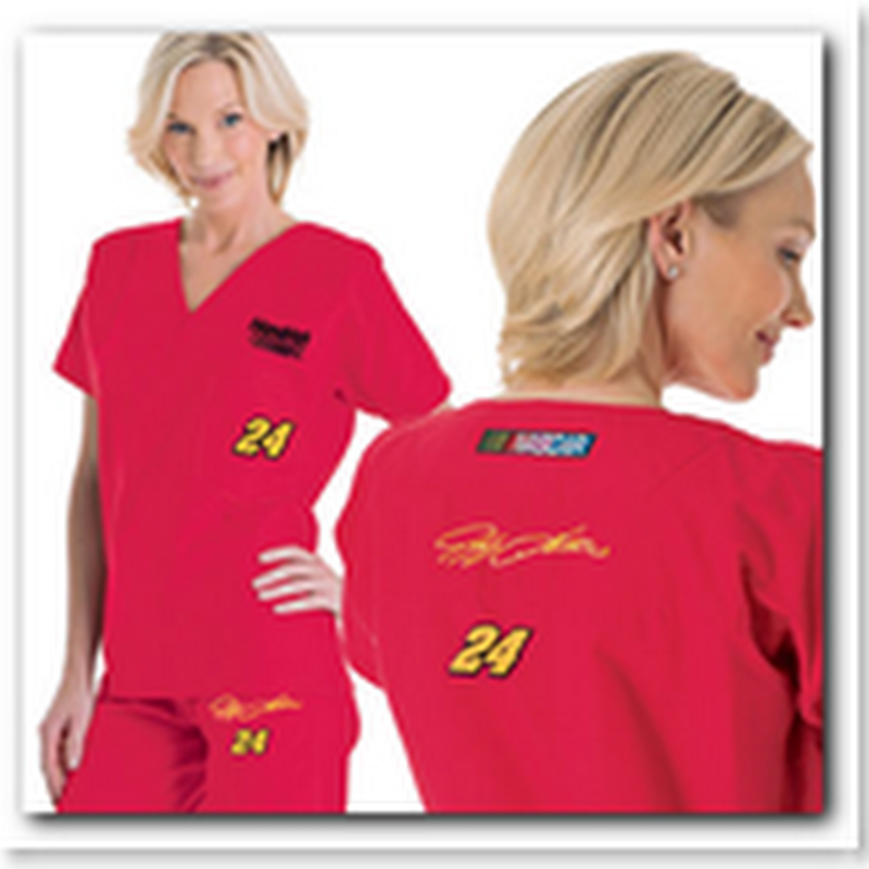 NASCAR scrubs for Medical and Healthcare professionals - Say What?