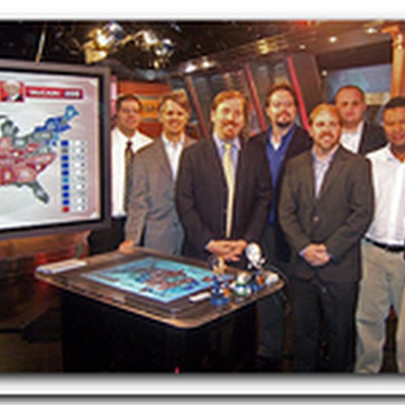Microsoft Surface Technology on MSNBC