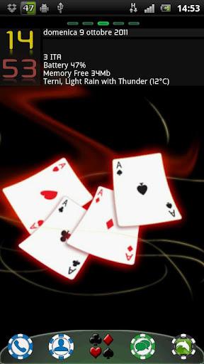 Poker Chip Go Launcher Theme