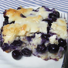 Blueberry Dumpling Cobbler