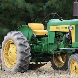 John Deere by Debbi Young - Transportation Other ( john deere, tractor )