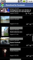 Screenshot of Photofeed for Facebook
