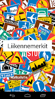Screenshot of Liikennemerkit