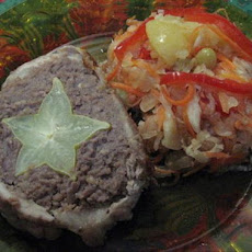 Meatloaf With Pork & Star Fruit