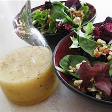 Beetroot Spinach Walnut Salad