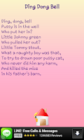 Screenshot of Rhymes for Kids