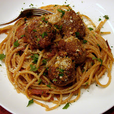 Truly Tender Meatballs in Rich Tomato Sauce