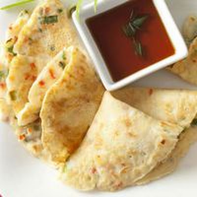 Asian Fish Pancakes