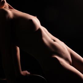 Shadows by Vineet Johri - Nudes & Boudoir Artistic Nude ( vkumar, workshop, art nude, girl, studio lighting workshop london, shadows )