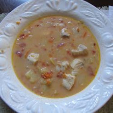 Hearty Halibut Chowder