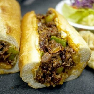 Recipe for Korean-Style Philly Cheesesteaks