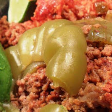 Stuffed Peppers with Spanish Sticky Rice