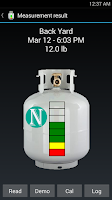 Screenshot of BBQ TankMeter - Grill Gauge