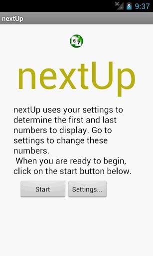 nextUp Sign Board