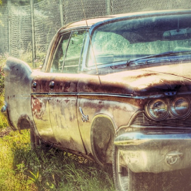 Lights out by Wendy Greenhut - Transportation Automobiles ( ipulledoverforthis, vintage, urbex_lady, rurex_lady, oldtime_life_house, trailblazers_rurex, ig_captures_decay )