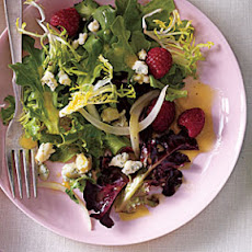 Pickled Onion, Blue Cheese, and Berry Salad