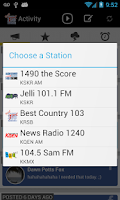 Screenshot of 541 Radio