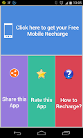 Screenshot of Free Rs 200 Mobile Recharge