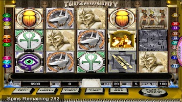 Screenshot of Slots : Pyramid Conspiracy