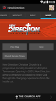 Screenshot of New Direction Christian Church