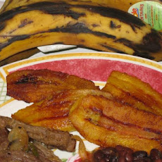 Easy Fried Plantains Slices