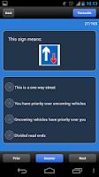 Screenshot of UK Driving Tests