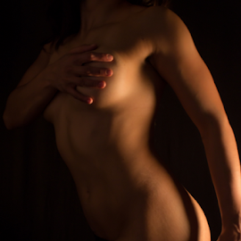 Shadows by Tim Justtim - People Body Parts ( body, boudoir photography, body parts, boudoir, art, shadows )