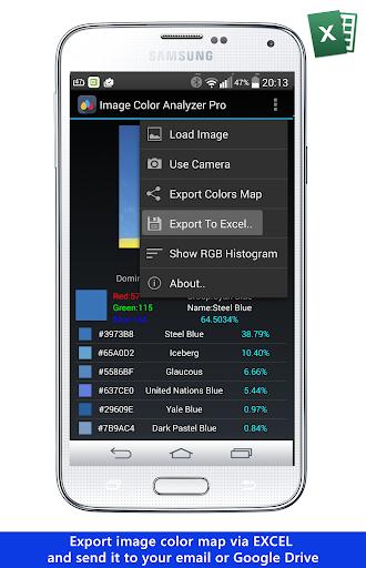 Image Color Analyzer Pro - screenshot
