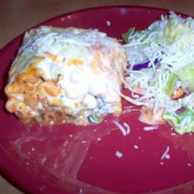 Grilled Chicken and Portobello Lasagna Rollups