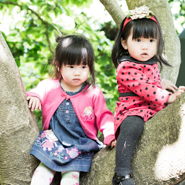 hello! my little friends by Phooiyoon Lay - Babies & Children Child Portraits (  )