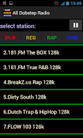 Screenshot of Rap radio Hip Hop radio